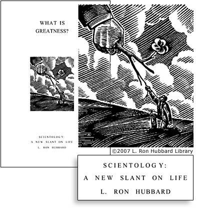Book: Scientology A New Slant on Life: What is Greatness?