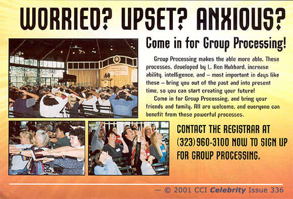 Promo: Worried? Anxious? Upset? Come in for Group Processing
