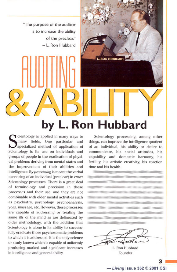 Article: Auditing and Ability