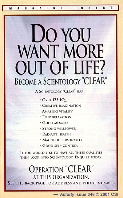 Promo: Become a Scientology Clear