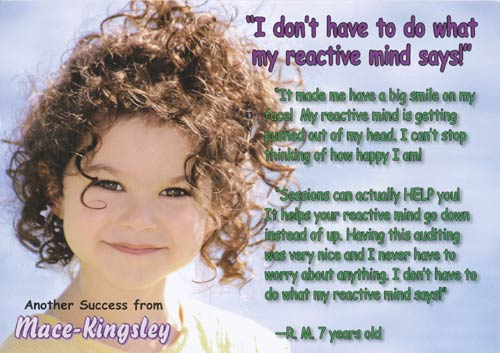 "Promo: ""I don't have to do what my reactive mind says!"""