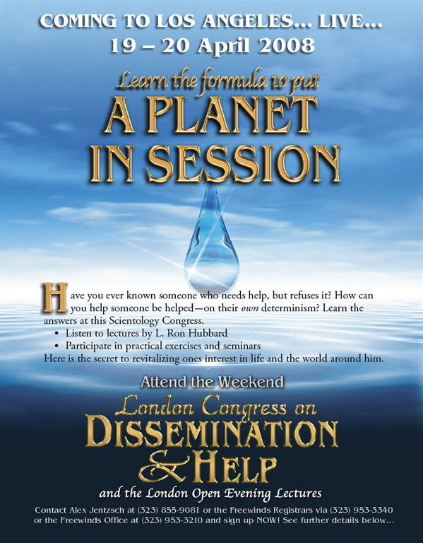 Ad: Dissemination and Help Congress 2008